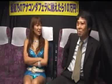 【星優乃】女優の激テクフェラに10分射精せずに耐えたら賞金10万円!